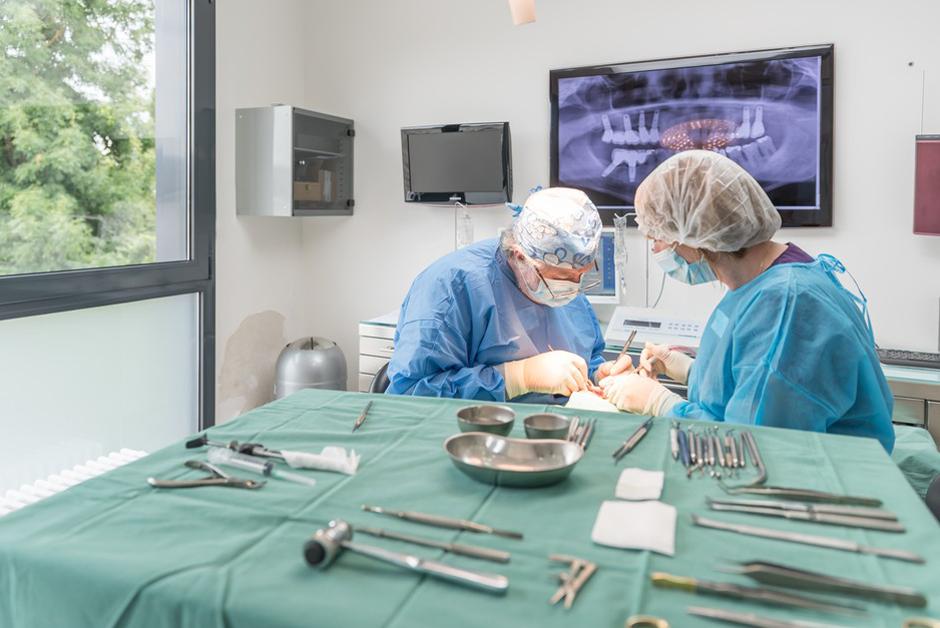 Bloc Opératoire du Cabinet dentaire Persan